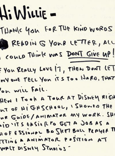 8 Inspiring Letters from Creative Minds