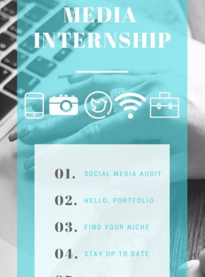6 Tips to Help You Land a Social Media Internship