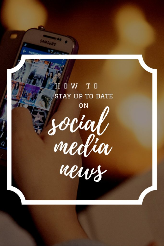 Here's how to stay up to date with social media news, trends and tips.