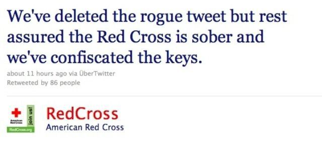 How to handle a PR crisis on social media with the American Red Cross.