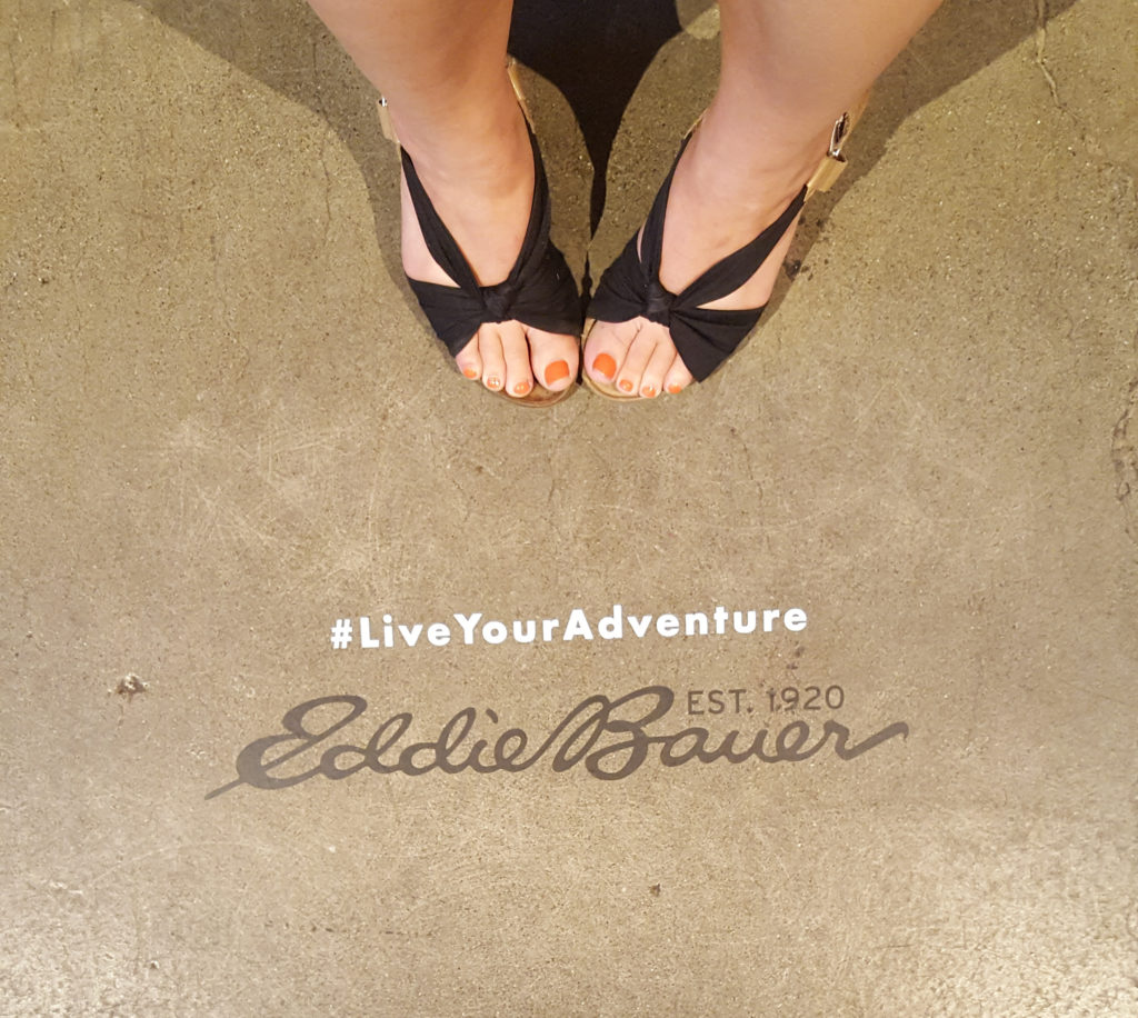 Create Cultivates #LiveYourAdventure panel with Eddie Bauer, July 2017 in San Francisco.