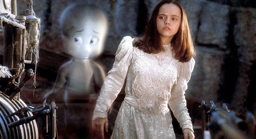 Christina Ricci in the film Casper.