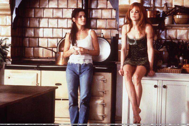 Nicole Kidman and Sandra Bullock star in Practical Magic.