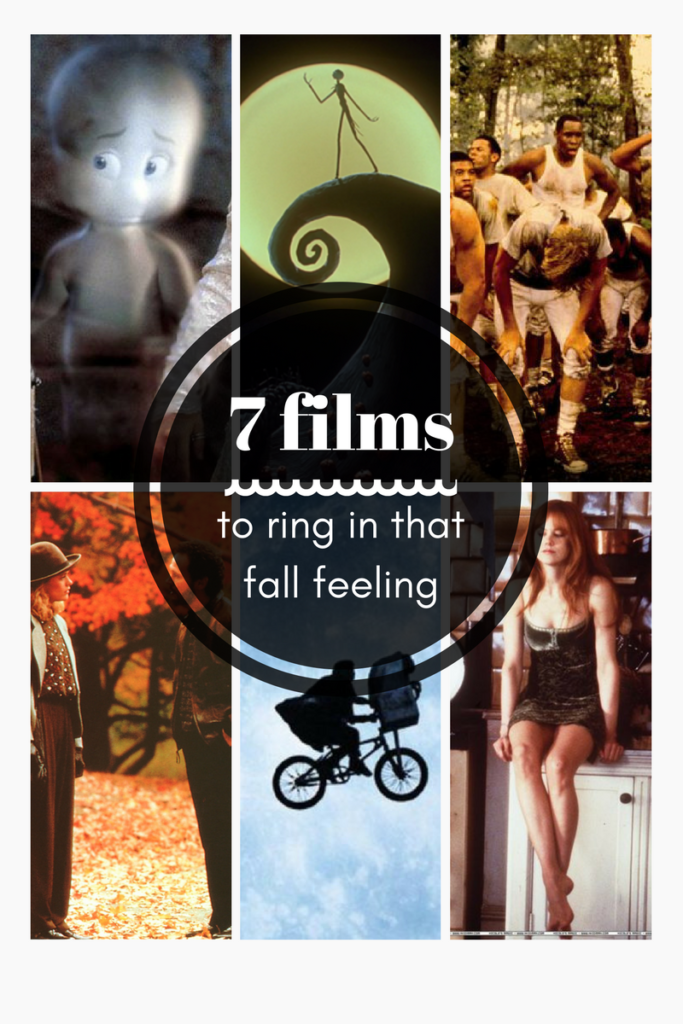 7 films to ring in that fall feeling with this autumn.